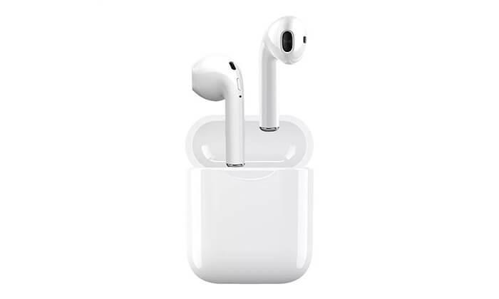 2 אוזניות Bluetooth אלחוטיות כולל נרתיק נשיאה