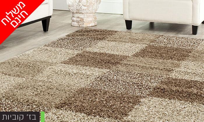 7 שטיח שאגי לסלון במבחר גדלים וצבעים - משלוח חינם