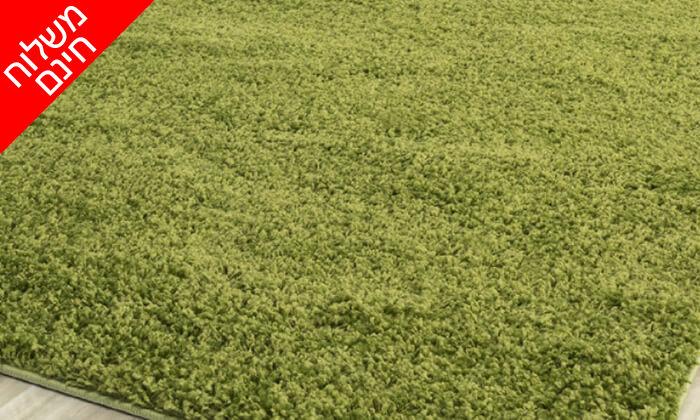14 שטיח שאגי לסלון במבחר גדלים וצבעים - משלוח חינם