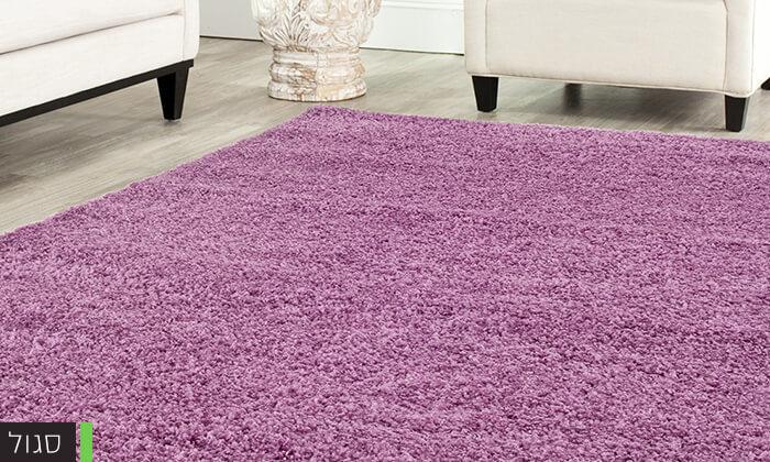 4 שטיח שאגי לסלון