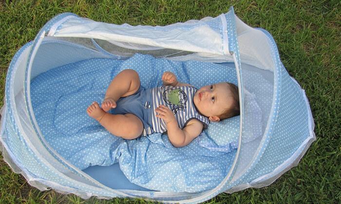 3 עריסת תינוק ניידת
