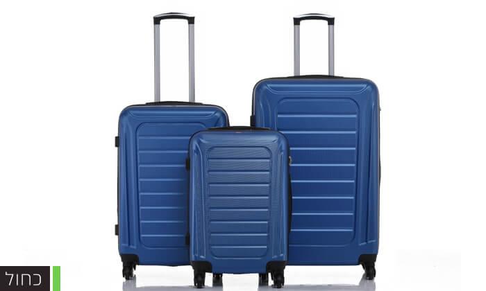 4 סט 3 מזוודות SWISS GENEVE