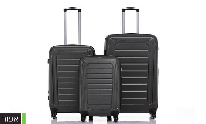 5 סט 3 מזוודות SWISS GENEVE