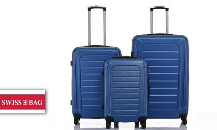 2 סט 3 מזוודות SWISS GENEVE