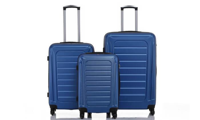 8 סט 3 מזוודות SWISS GENEVE