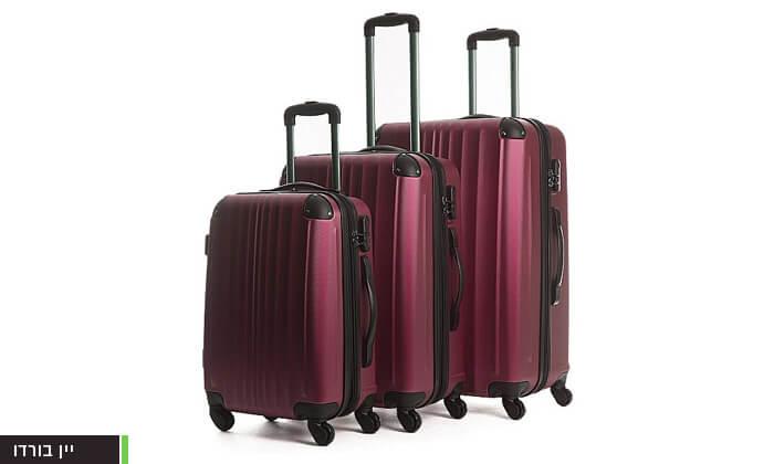 3  סט 3 מזוודות קשיחות CalPak