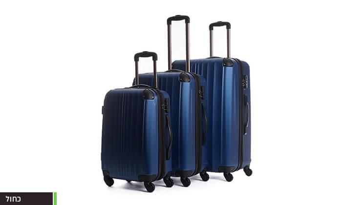 6  סט 3 מזוודות קשיחות CalPak