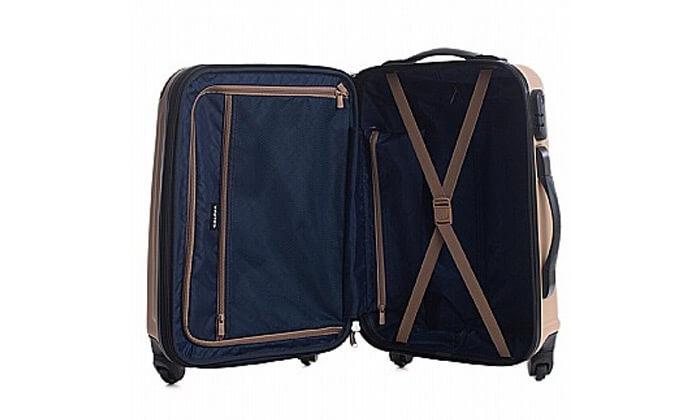 9  סט 3 מזוודות קשיחות CalPak