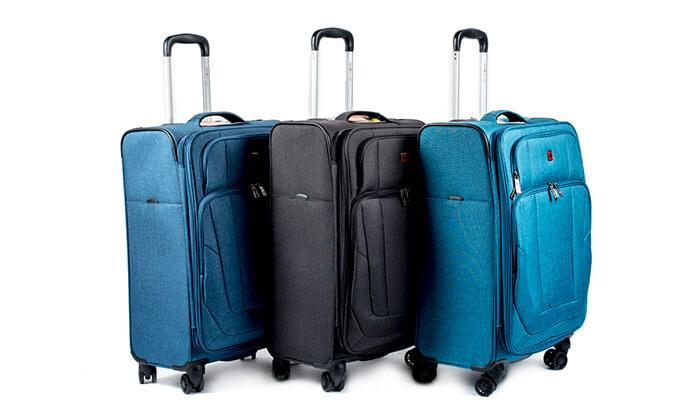 9 מזוודה Swiss Lite Premium ב-3 גדלים