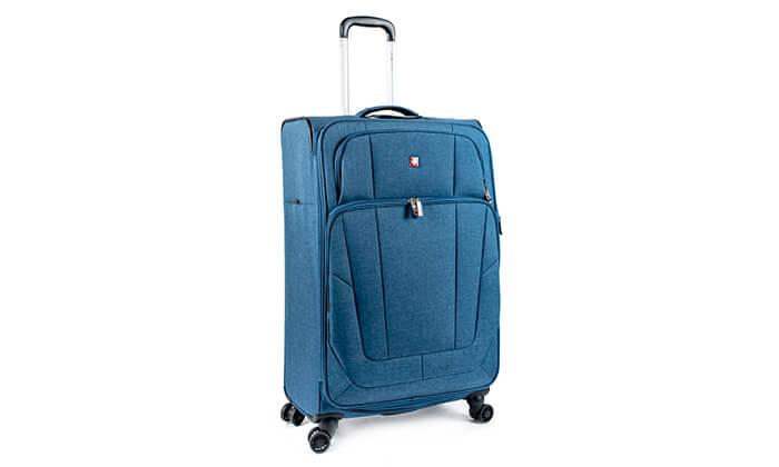 4 מזוודה Swiss Lite Premium ב-3 גדלים