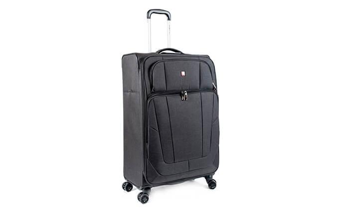 6 מזוודה Swiss Lite Premium ב-3 גדלים