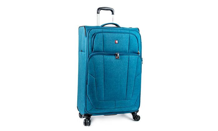 8 מזוודה Swiss Lite Premium ב-3 גדלים