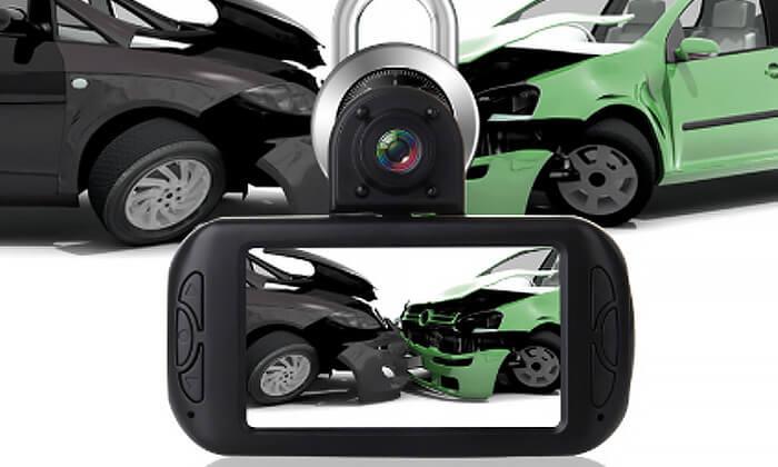 3 מצלמת דרך דו-כיוונית לרכב Discovery עם GPS מובנה