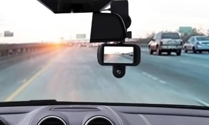 5 מצלמת דרך דו-כיוונית לרכב Discovery עם GPS מובנה