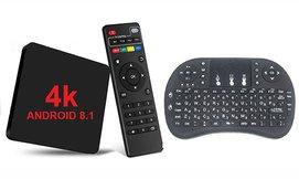 סטרימר ANDROID TV BOX4K ULTRA