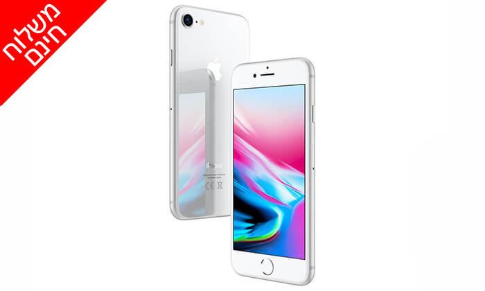 5 אייפון Apple iPhone 8 עם זכרון 64GB - משלוח חינם!