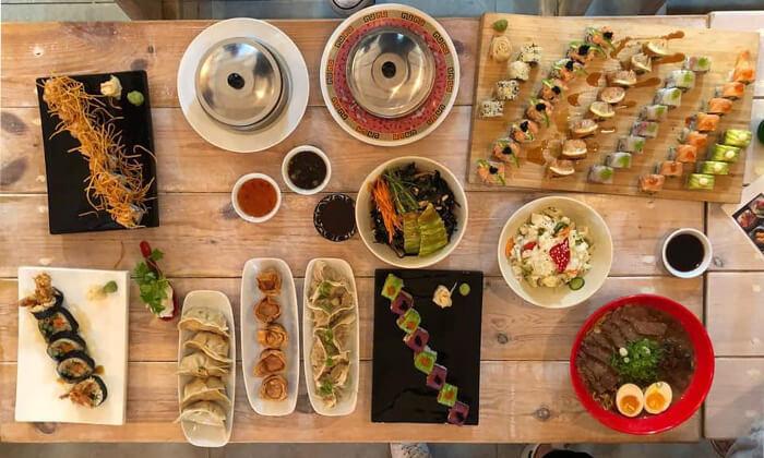2 ארוחה זוגית במסעדת Umami, שוק הכרמל תל אביב