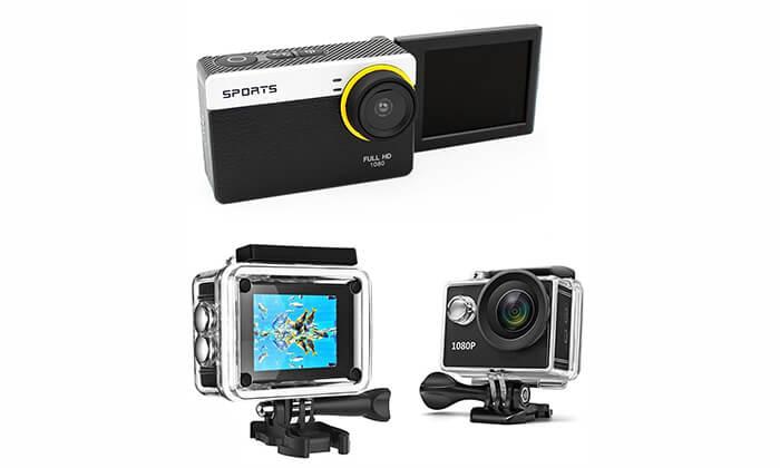 7 מצלמת וידאו אקסטרים ברזולוציית Full HD 1080