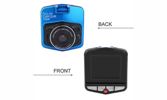 4  מצלמת דרך לרכב ברזולוציית Full HD - משלוח חינם