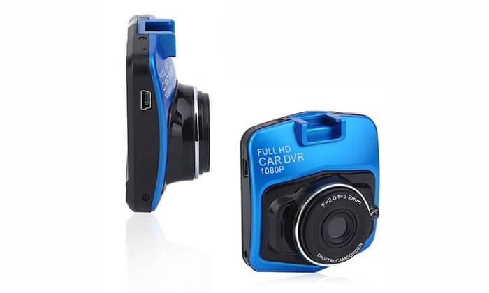 9  מצלמת דרך לרכב ברזולוציית Full HD - משלוח חינם
