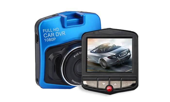 מצלמת דרך לרכב ברזולוציית Full HD - משלוח חינם