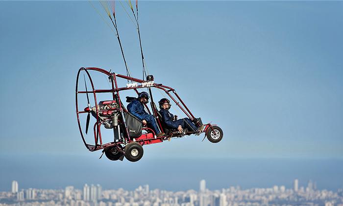 5 טיסה בבקאי מעל שמי הארץ עם buckeye fun