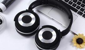 אוזניות אלחוטיות עם רמקולים