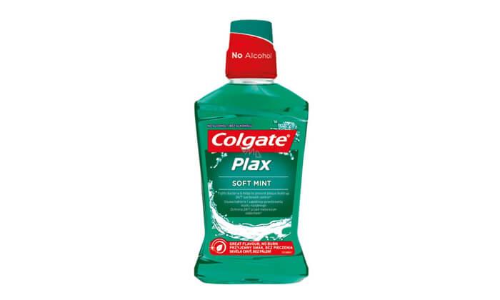 3 מארז חסכון עם 6 בקבוקי שטיפת פה Colgate-קולגייט