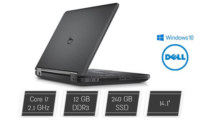 2 מחשב נייד דל - DELL עם מסך 14 אינץ'