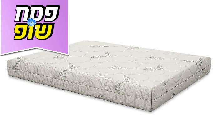 4 שמרת הזורע: מיטה זוגית עם זוג שידות לילה