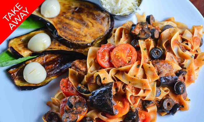 5 ארוחה איטלקית זוגית ב-T.A ממסעדת מאמא מיה, חיפה