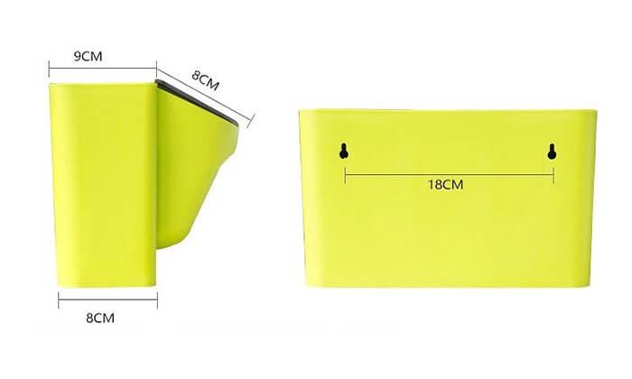 3 זוג אדניות קיר GREEN WALL של MiniMaxx