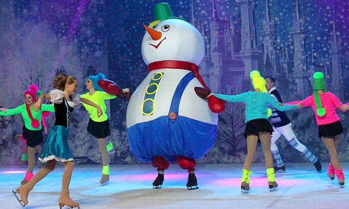 10 כרטיס למופע 'מלכת השלג' - קרקס על הקרח, מגוון מיקומים ומועדים