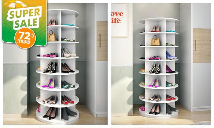 2 דיל לזמן מוגבל - ארון נעליים מסתובב - משלוח חינם