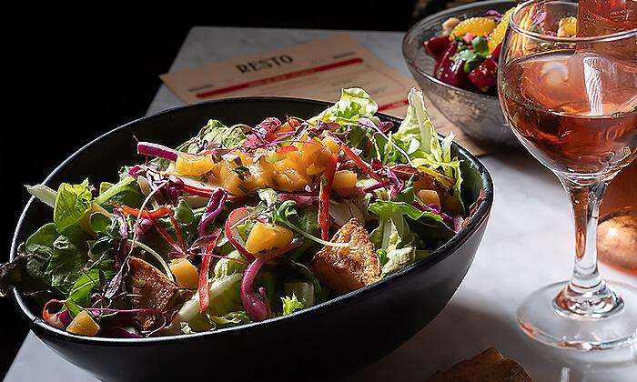 4 ארוחת שף זוגית במסעדת RESTO הכשרה, החשמונאים תל אביב