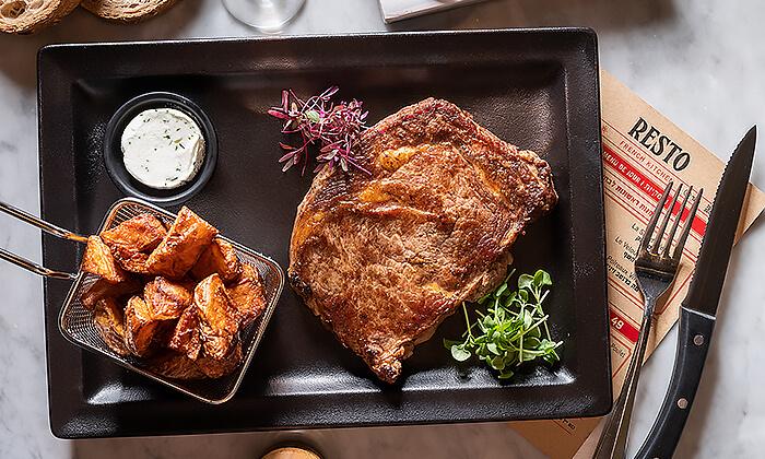 11 ארוחת שף זוגית במסעדת RESTO הכשרה, החשמונאים תל אביב