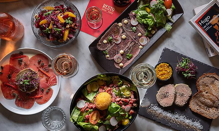 3 ארוחת שף זוגית במסעדת RESTO הכשרה, החשמונאים תל אביב