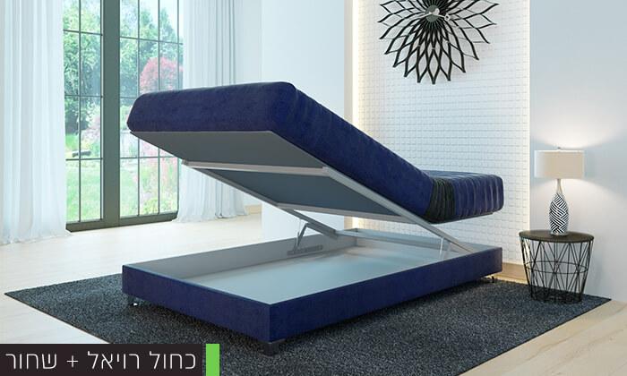6 מיטה אורתופדית ברוחב וחציRAM DESIGN