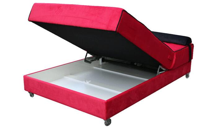 3 מיטה אורתופדית ברוחב וחצי Or Design