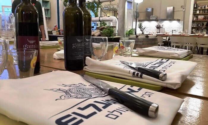 4 סדנאות בישול איטלקי עם 'מבשלים חוויה' - הבית של סדנאות הבישול, תל אביב