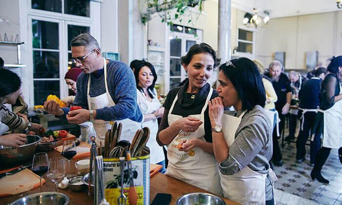 12 סדנאות בישול איטלקי עם 'מבשלים חוויה' - הבית של סדנאות הבישול, תל אביב