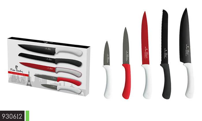 7 סט 5 סכינים Pierre Cardin