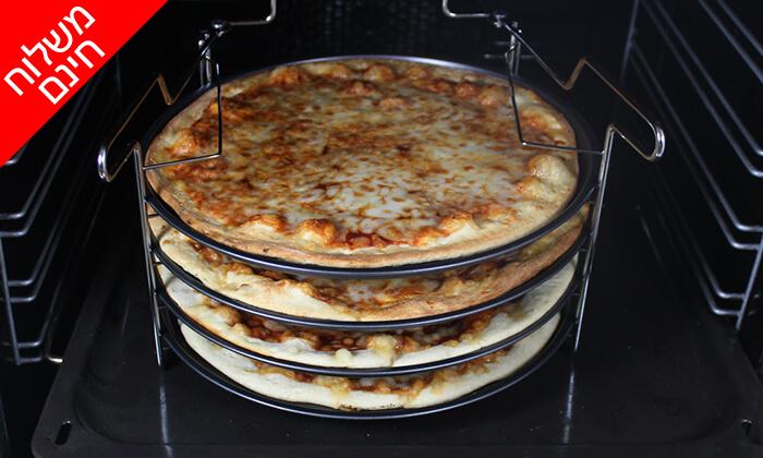 4 סט להכנת פיצה 5 חלקים - משלוח חינם
