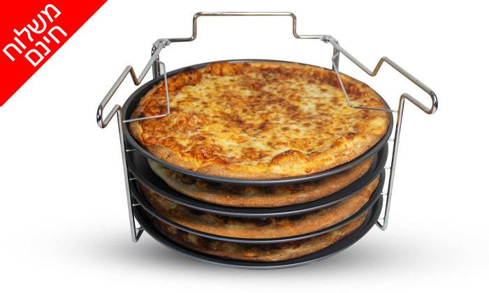 7 סט להכנת פיצה 5 חלקים - משלוח חינם