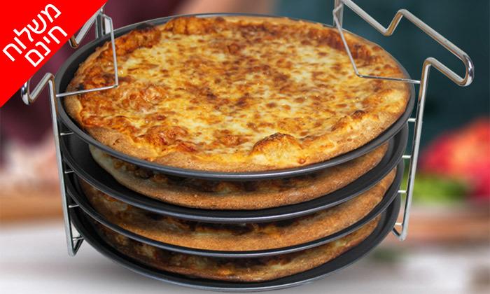 6 סט להכנת פיצה 5 חלקים - משלוח חינם