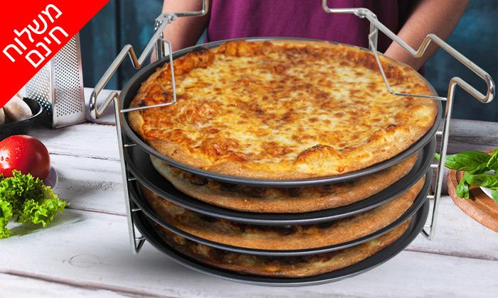 2 סט להכנת פיצה 5 חלקים - משלוח חינם