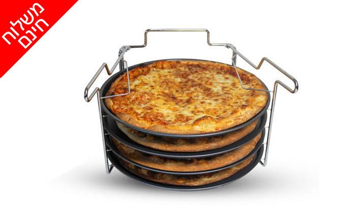 9 סט להכנת פיצה 5 חלקים - משלוח חינם