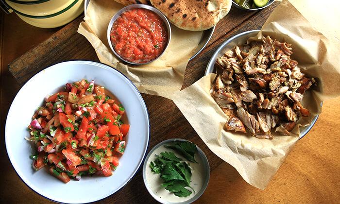 5 ארוחת בשרים במסעדת פטרוזיליה הכשרה, שדרות רוטשילד תל אביב