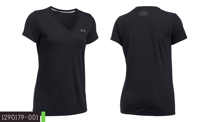 3 חולצת אימון לאשה ולגבר UNDER ARMOUR