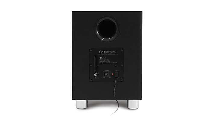 8 מקרן קול וסאבוופר אלחוטי פיור אקוסטיקס Pure Acoustics - משלוח חינם!